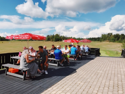 Sommar, sol och after golf